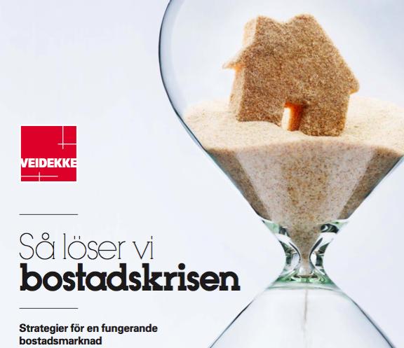 Rapport Veidekke, bostadskris