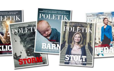 Stefan Attefall i tidningen Poletik